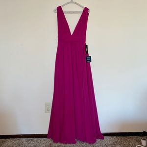 Lulu's Berry Formal Dress
